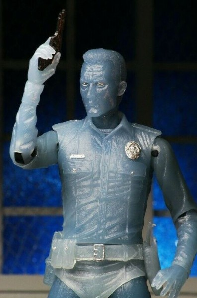 Terminator 2 Actionfigur White Hot T-1000