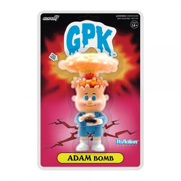Garbage Pail Kid ReAction Actionfigur Adam Bomb (NYCC Exclusive)