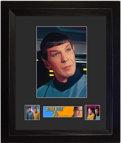 Film Cell Star Trek Original Series Spock