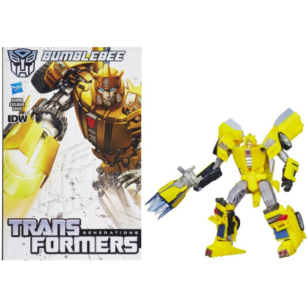 Transformers Deluxe Generations IDW Bumblebee