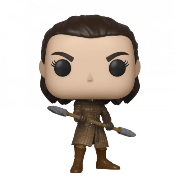 Game of Thrones Funko Pop! Vinylfigur Arya (with Two Headed Spear)