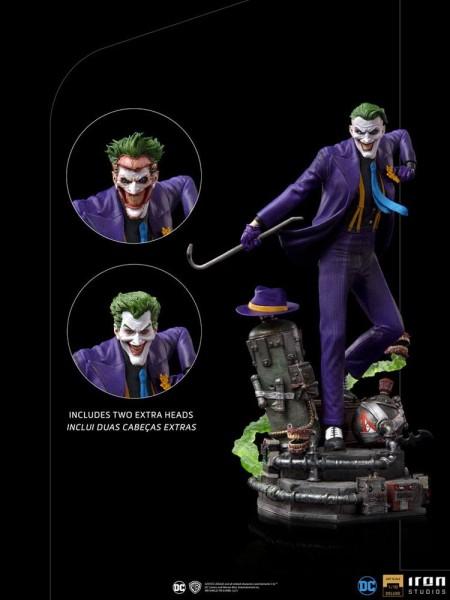 DC Comics Art Scale Statue 1/10 The Joker (Deluxe)