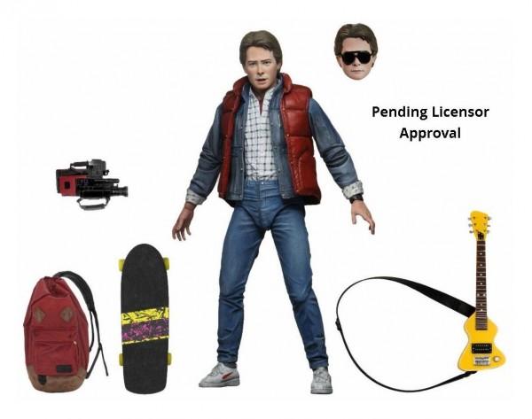 Zurück in die Zukunft Actionfigur Ultimate Marty McFly