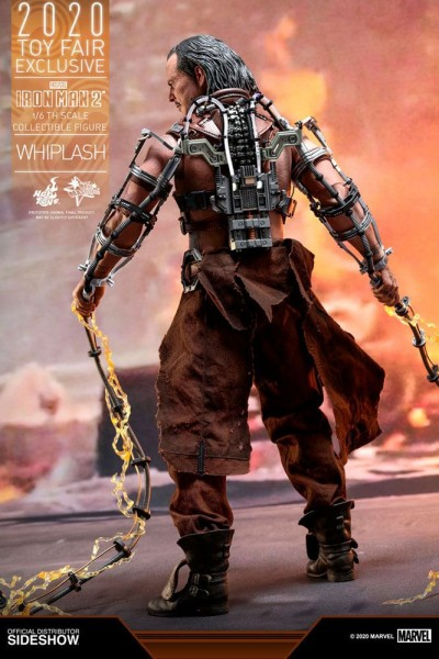 Iron Man 2 Movie Masterpiece Actionfigur 1/6 Whiplash (Exclusive)