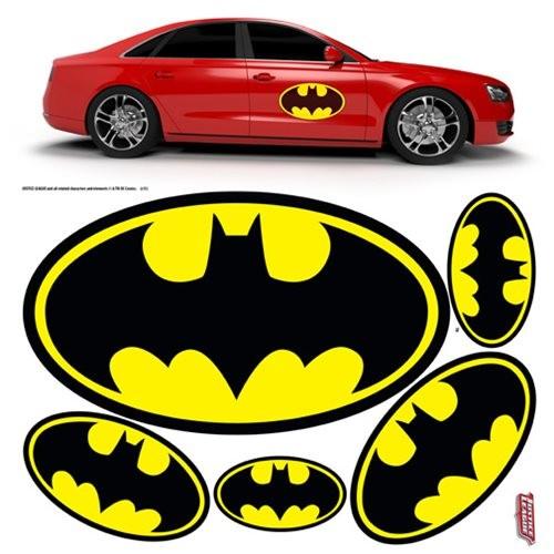 Batman Graph Auto Folien-Set