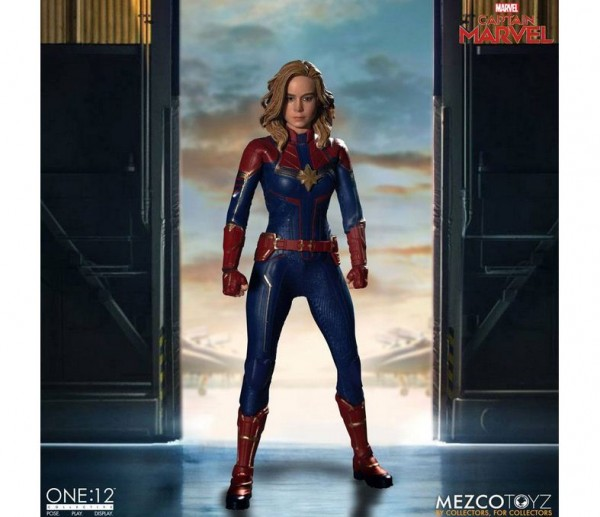 Captain Marvel Movie ´The One:12 Collective´ Actionfigur 1/12 Captain Marvel