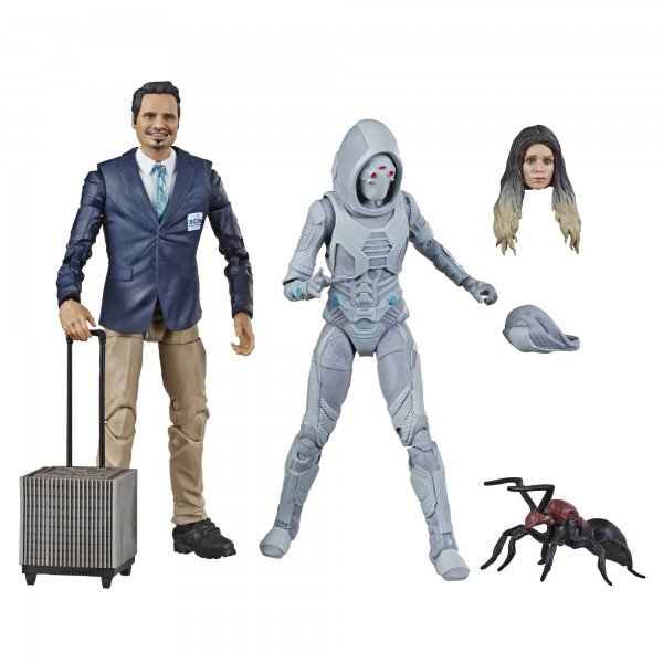 Ant-Man and the Wasp Marvel Legends 80th Anniversary Actionfiguren Ghost & Luis (2-Pack)