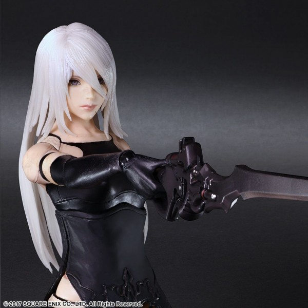 NieR Automata Play Arts Kai Actionfigur 2A (YoRHa Type A No. 2)