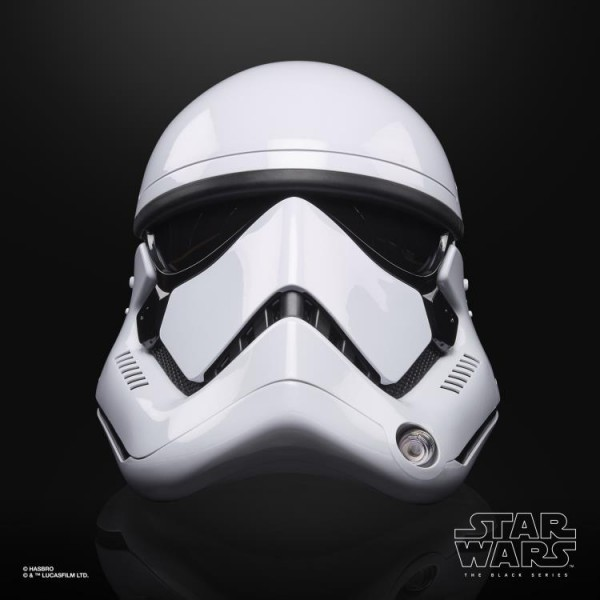 Star Wars Black Series Replik 1:1 Elektronischer Helm First Order Stormtrooper
