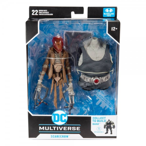 DC Multiverse Build A Actionfigur Scarecrow (Last Knight on Earth)