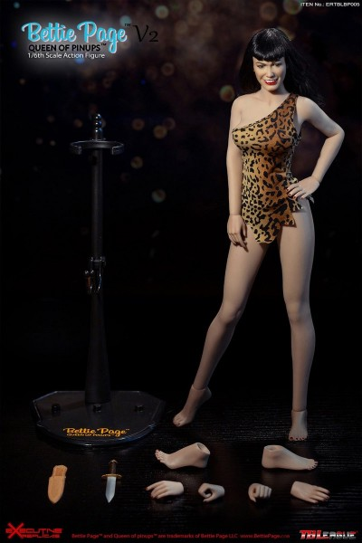 Phicen / TBLeague Queen of Pinups 1/6 Actionfigur Bettie Page (Version 2)