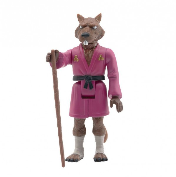 Teenage Mutant Ninja Turtles ReAction Actionfigur Splinter