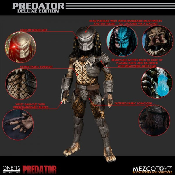 Predator ´The One:12 Collective´ Actionfigur 1/12 Predator (Deluxe Edition)
