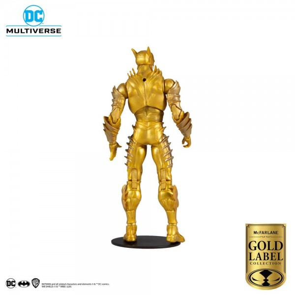 DC Multiverse Actionfigur The Flash (Earth 52, Dark Nights: Metal) Gold Label Series