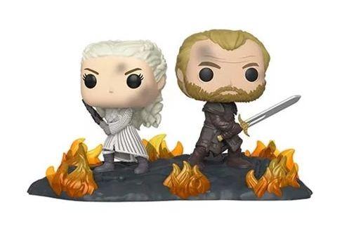 Game of Thrones Funko Pop! Vinylfiguren Moments: Daenerys & Jorah
