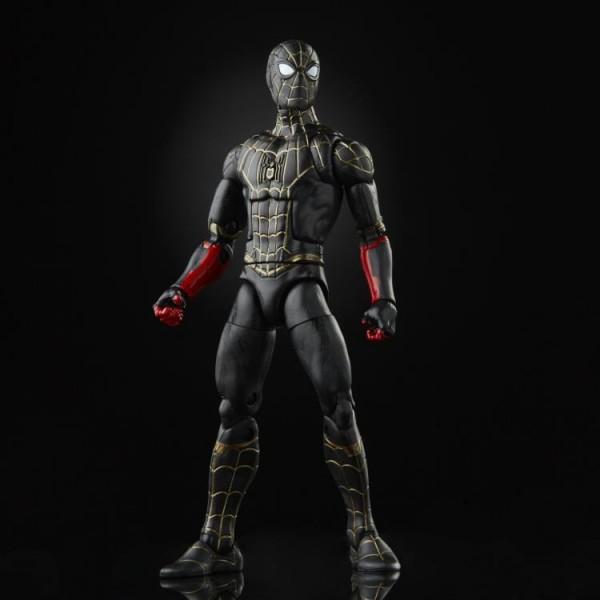 Spider-Man No Way Home Marvel Legends Actionfigur Spider-Man (Black & Gold Suit)