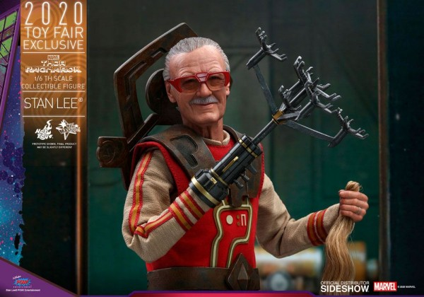 Thor Ragnarok Movie Masterpiece Actionfigur 1/6 Stan Lee (Exclusive)