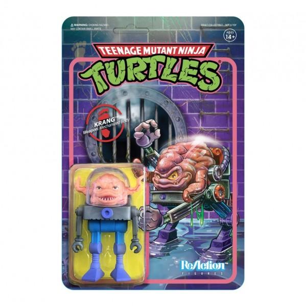 Teenage Mutant Ninja Turtles ReAction Actionfigur Krang