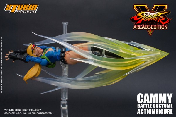 Street Fighter V Arcade Edition Actionfigur 1/12 Cammy (Battle Costume)