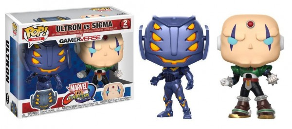 Marvel vs. Capcom: Infinite Funko Pop! Vinylfiguren Ultron & Sigma 2-Pack