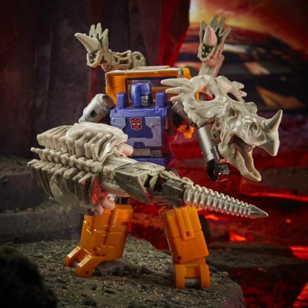 Transformers Generations War For Cybertron KINGDOM Deluxe Ractonite