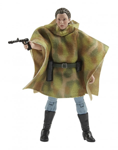 Star Wars Vintage Collection 50th Anniversary Lucas Film Actionfigur 10 cm Princess Leia (Endor) Exc