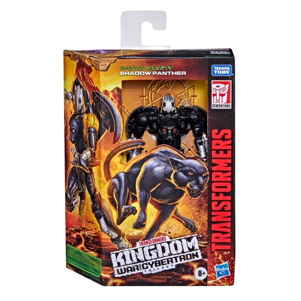 Transformers Generations War For Cybertron KINGDOM Deluxe Shadow Panther