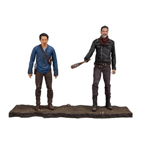 Walking Dead Deluxe Actionfiguren-Set Negan & Glenn