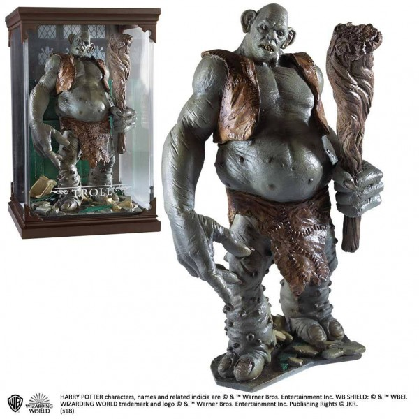Harry Potter Magical Creatures Statue Troll