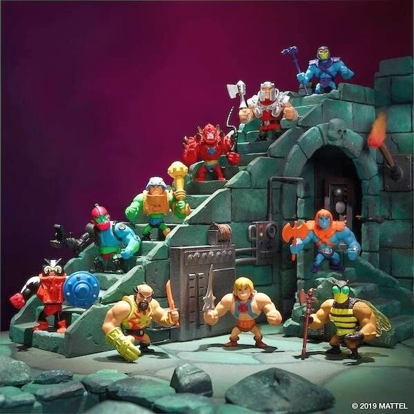 Masters of the Universe Origins Minis Minifiguren Display Wave 1 (18)