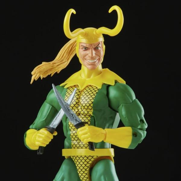 Marvel Legends Retro Actionfigur Loki