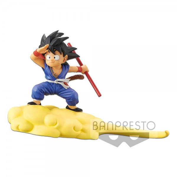 Dragonball Kintoun Statue Son Goku auf Jindujun (Special Color Version)