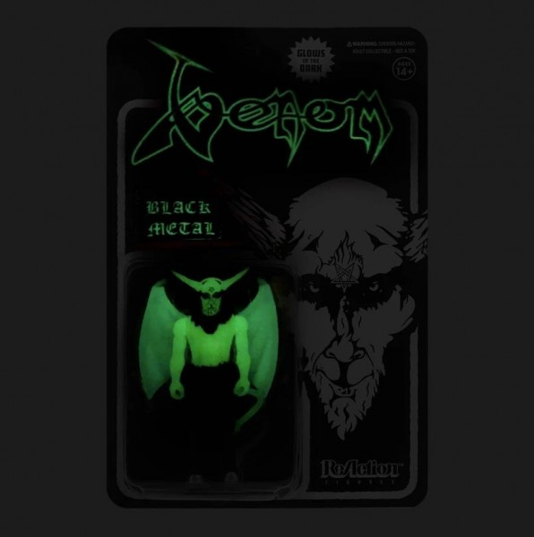 Venom ReAction Actionfigur Black Metal (Glow-in-the-Dark)