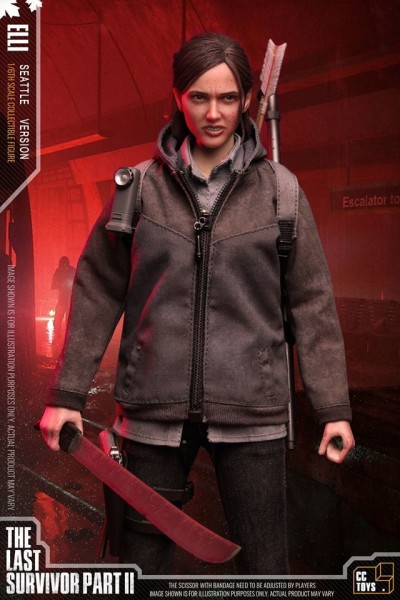 CC Toys The Last Survivor Part II Actionfigur 1/6 Elli 2.0 (Seattle Version)