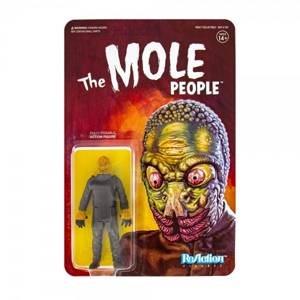 Universal Monsters ReAction Actionfigur Mole People - Mole Man