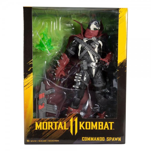 Mortal Kombat 11 Actionfigur Commando Spawn (Dark Ages Skin)