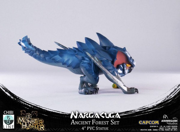 Monster Hunter Statue Nargacuga