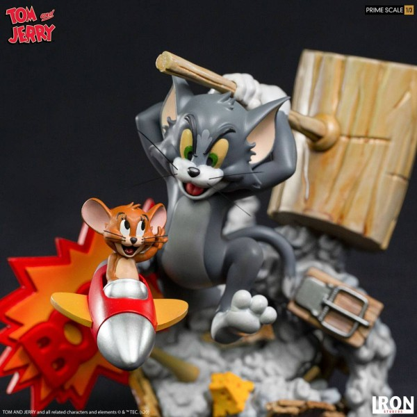 Tom & Jerry Prime Scale Statue 1/3 Tom & Jerry
