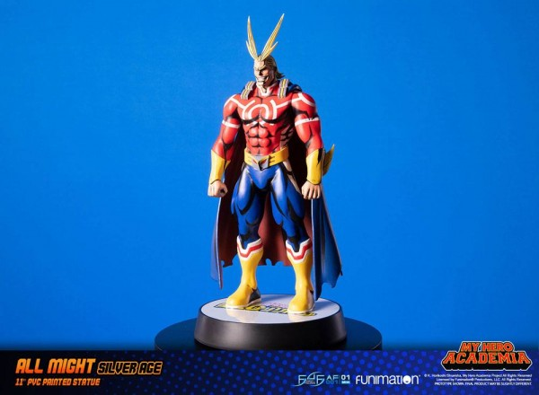 My Hero Academia Actionfigur All Might Silver Age (Standard Edition)