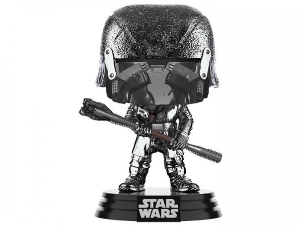 Star Wars Rise of Skywalker Funko Pop! Vinylfigur Knight of Ren (with Club) Hematite Chrome