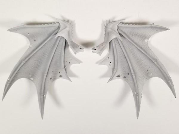 Mythic Legions: Illythia Zubehör-Set für Actionfiguren White Vampire Wings