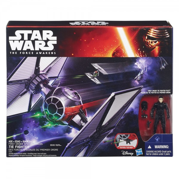 Star Wars Fahrzeug Class II Episode VII First Order Special Forces TIE Fighter