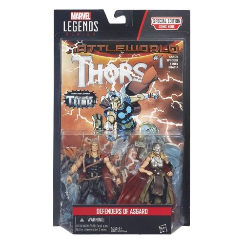 Marvel Legends Thor Actionfiguren 2-Pack Defenders of Asgard (Comic Version)