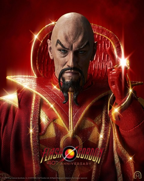 Flash Gordon Actionfigur 1/6 Ming the Merciless (Limited Edition)