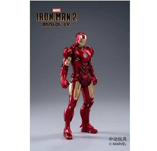 ZD Toys Actionfigur 1/10 Iron Man Mark IV
