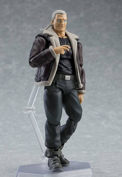 Ghost in the Shell Stand Alone Complex Figma Actionfigur Batou (S.A.C. Version)