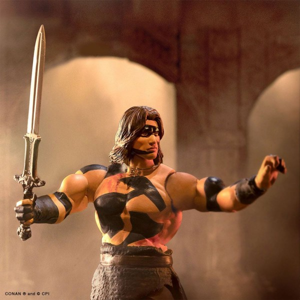 Conan der Barbar Ultimates Actionfigur Conan (War Paint)