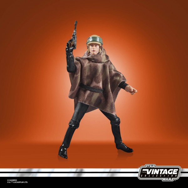 Star Wars Vintage Collection 50th Anniversary Lucas Film Actionfigur 10 cm Luke Skywalker (Endor) Ex