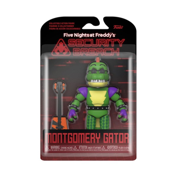 Five Nights at Freddy's Security Breach Actionfigur Montgomery Gator