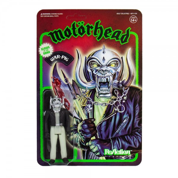 Motorhead ReAction Actionfigur Warpig (Glow in the Dark)